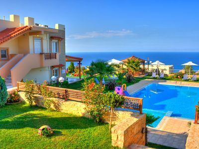 Photo for Lux villa with panoramic sea view, gardens and pool