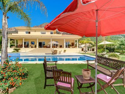 Photo for Stunning and quiet Villa located near the Montgo Natural Park