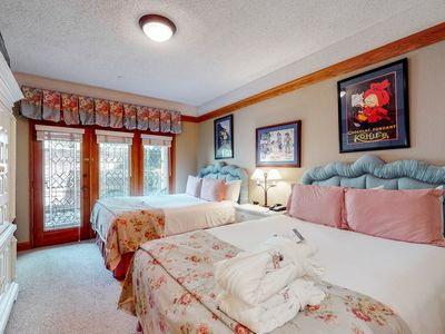 Photo for Hotel style ski-in/ski-out ground floor condo w/ shared pool & hot tub access!