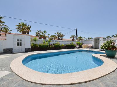 Photo for Palm-Mar Apartment, Sleeps 4 with Pool and WiFi
