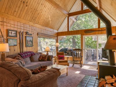 Photo for Icicle Riverhaus...A Cozy Cabin On The Icicle River Minutes From Leavenworth!