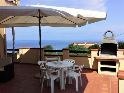 Photo for SEAFRONT HOUSE WITH TERRACE AND BEAUTIFUL VIEW