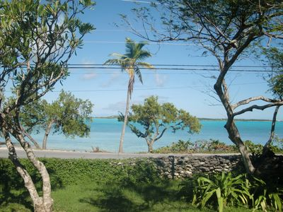 Photo for Views over Elizabeth harbor, 1 mile from Georgetown, Exuma