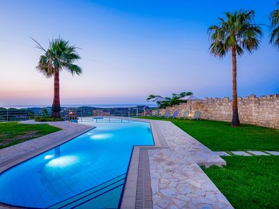Photo for Chloe - Impressive Villa in an Ideal Location for Exploring the nearby Beach Resorts, Private Pool and Amazing Sea Views!  - Free WiFi
