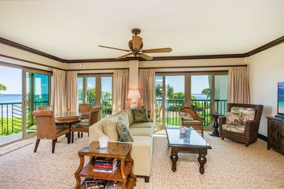 A207 Living Room Oceanfront View