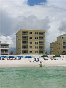 "Photo for 3 BR Gulf Front Turtle Walk, ""Turtle Walk and Blue Dolphin Condos"""