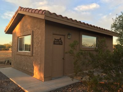 Photo for A couples retreat, minutes from trails, hiking, horseback riding and much more.