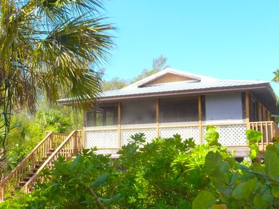 Photo for Serenity Cottage:  Privacy; Long term discount; Kayak/Paddle Board & Golf Cart