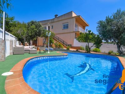 Photo for FINQUES SEGARRA - Apartment with chill-out area, pool and barbecue