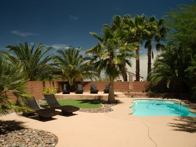 Photo for Private Backyard Oasis!!