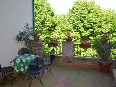 Photo for House with terrace in typical Italian village in the hills, at 15km from the sea