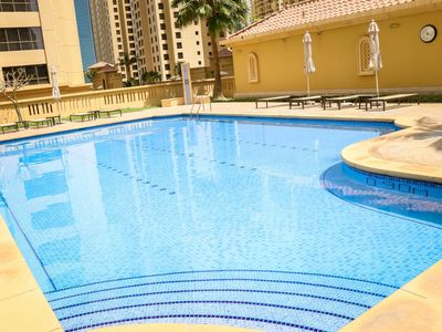Photo for JBR 2 Bedrooms Apartment Rimal 1