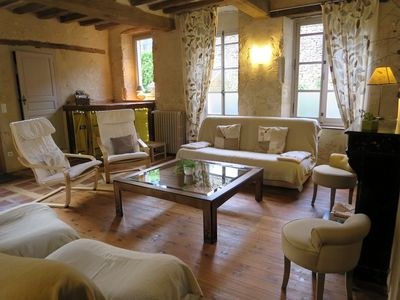 "Photo for Gite ""4 ears"": 3 bedrooms & 3 bathrooms, Garden. Near swimming pool. 2 hours from Paris"