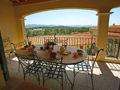 Photo for 3 bedroom Apartment, sleeps 6 in Le Mitan with Pool, Air Con and WiFi