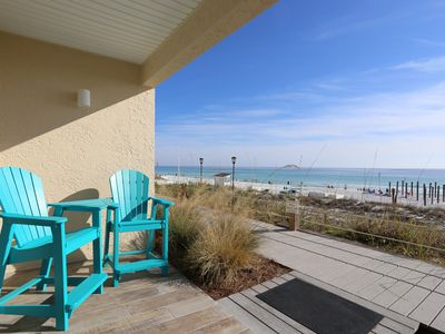 Photo for Updated Beachfront Condo! 1 of the Best at Crystal Sands