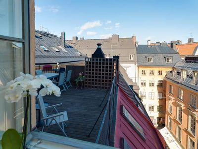 Photo for Classic One Bedroom Terrace ( Old Town Stockholm )
