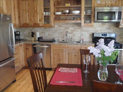 State of the art kitchen for cooking great meals. Fully equipped with everything