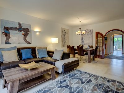 Photo for Falesia Beach 3 bedr Townhouse & Pool, walking distance to Beach & Amenities