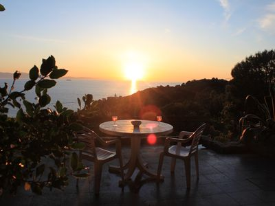 Photo for House With Sea View On Elba Island - 10 Min Walk from Beach