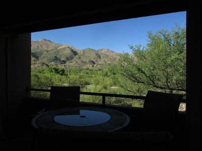 Photo for Amazing Mountain Views from this 2nd Floor Large 2 Bedroom in Ventana Canyon!