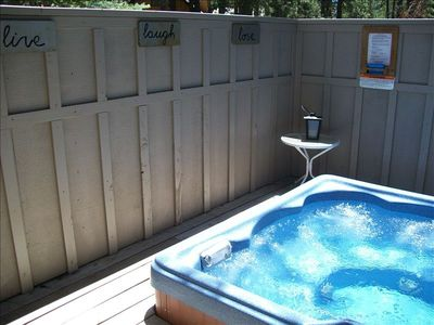 Great PRIVATE hot tub (RELAX)