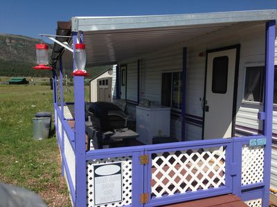 32' Trailer  Great Vacation rental or Base camp for Hunting  or fishing
