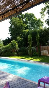 Photo for Large house with pool BORDEAUX
