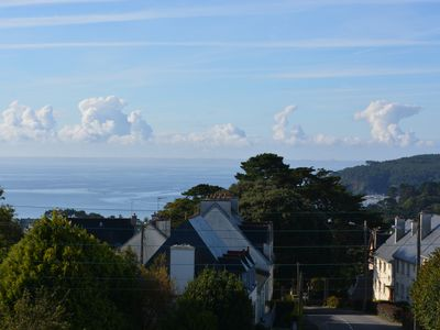 Photo for Large apartment 2 P, bright, view Morgat Bay Sea redone