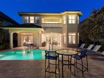 Photo for Modern Perfection | Ultimate Modern Luxury Pool Home with Amazing Views - Close to Disney®