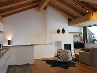 Photo for Sunny penthouse apartment with fantastic views of the Großvenediger