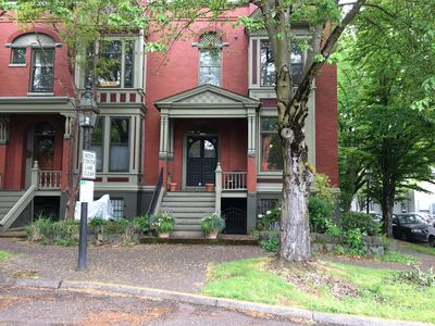 Photo for Historic Brownstone Apartment In The Heart Of The City - Completely Remodeled