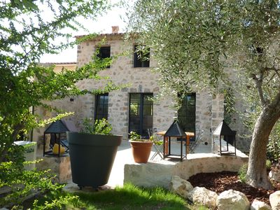 Photo for Luxurious charming 18th century house with large terrace in the Provencal village