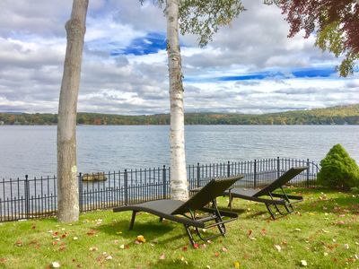 Photo for Private & Meticulous Waterfront in Upscale Meredith Bay - Lake Winnipesaukee
