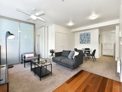 Photo for Fully Furnished one bedroom Apt 104/336 Russell Street, Melbourne