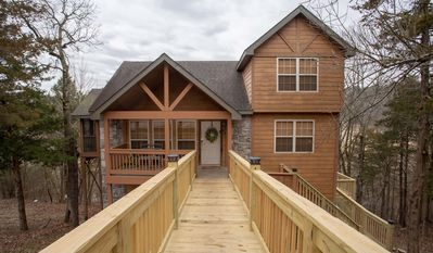 Photo for Whispering Woods Lodge-2 bedroom, 2 bath lodge located at Stonebridge Resort