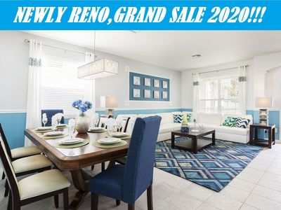 Photo for Newly RENOVATED 6BR Highland Home(Windsor Hills): Pool,Spa,GameRM, 2Mi to Disney