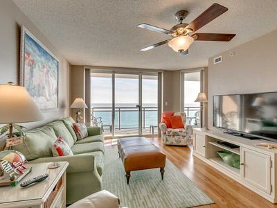 Photo for GORGEOUS Oceanfront 3 Bedroom Condo, Bahama Sands 1108!