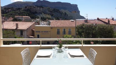 Photo for Cassis creeks apartment harbor, behind the port, nice view and parking