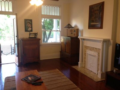Photo for Big, beautiful 2BR home w/ full kitchen on Magazine St.!