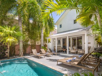 Photo for ~ MAISONS de LUXE ~ 2 Stunning Homes w/ Private Pool ON DUVAL.  Dogs OK!