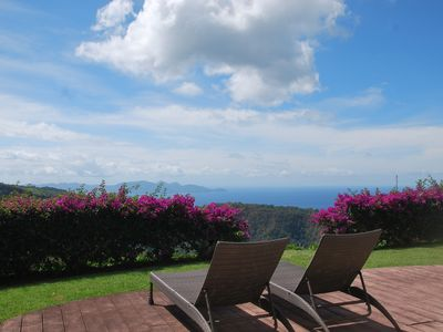 Photo for Kalinda Villa Spacious villa for 2 people, exceptional sea and mountain views