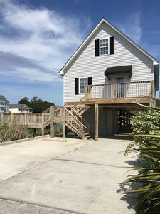 Photo for Beautiful 3 Bedroom & 3 Bath Raised Vacation Beach Home On The Water!!