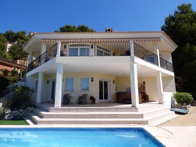Photo for Modern villa 3 km from the beach in exclusive residential area
