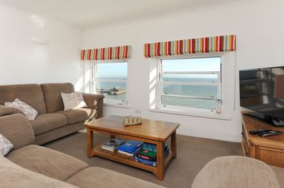 Sit on the sofa and enjoy unparalleled sea view