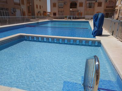 Photo for Apartment with swimming pool, near the sea. Ideal with children. Dog allowed