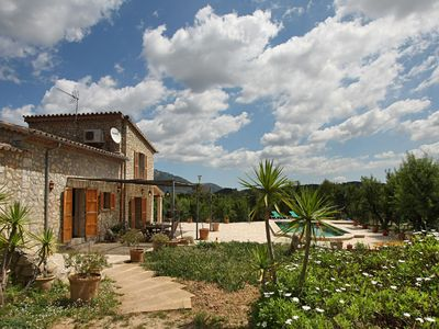 Photo for Cozy cottage with private pool overlooking the Tramuntana Mountains