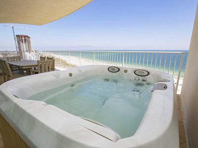 Photo for East Corner Condo ~  Sleeps 14 ~ Turquoise Place 1101C ~ Balcony Hot Tub/Grill ~ Lazy River +++