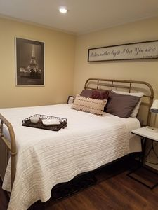 Cozy home just blocks from great restaurants, grocery stores, and activities.