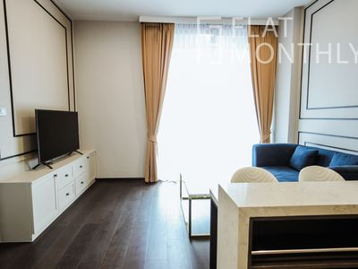 Photo for Super Luxury 1 BR , just 5 min walk from BTS Thong Lo by FlatMonthly