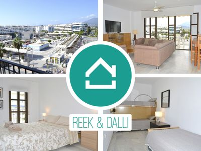 Photo for Puerto Banús Apt - Sleeps 6 with views of Plaza